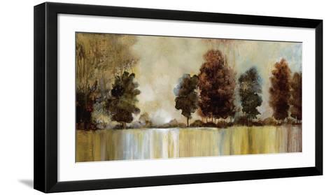 Morning Mist-Cat Tesla-Framed Art Print