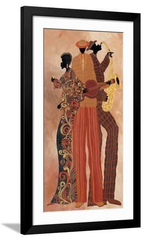 Down to the Bass-Stuart McClean-Framed Art Print