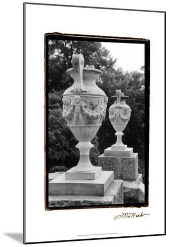 Garden Elegance IV-Laura Denardo-Mounted Art Print