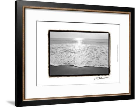 Ocean Sunrise III-Laura Denardo-Framed Art Print