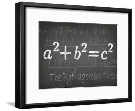 Mathematical Elements IV-Ethan Harper-Framed Art Print