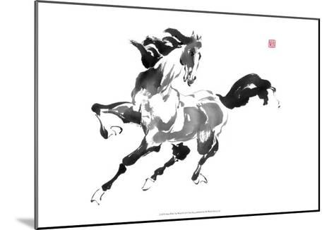 Runs with the Wind-Nan Rae-Mounted Art Print