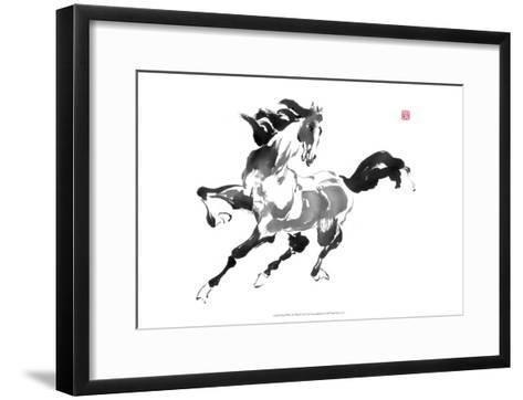 Runs with the Wind-Nan Rae-Framed Art Print