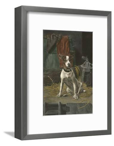 I Smell a Rat-William Weeks-Framed Art Print