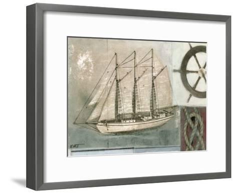 Sailing I-Norman Wyatt Jr^-Framed Art Print