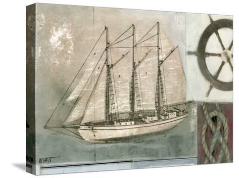Sailing I-Norman Wyatt Jr^-Stretched Canvas Print