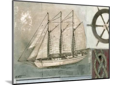 Sailing I-Norman Wyatt Jr^-Mounted Art Print