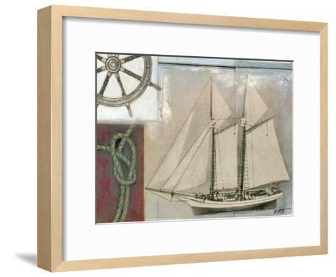 Sailing II-Norman Wyatt Jr^-Framed Art Print