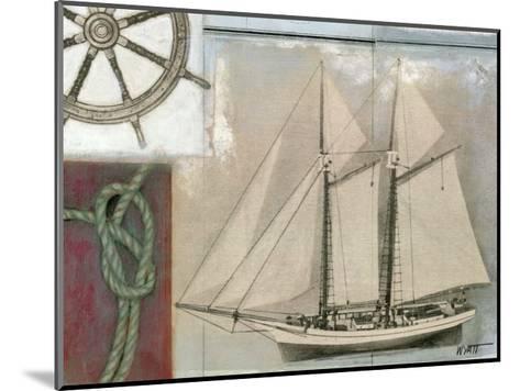 Sailing II-Norman Wyatt Jr^-Mounted Art Print