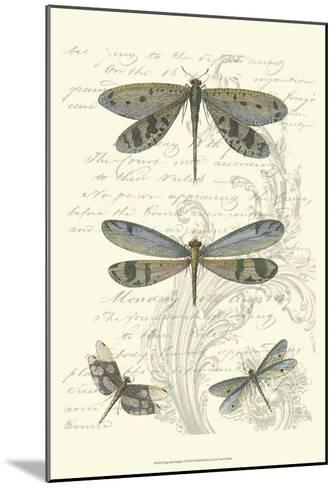 Dragonfly Delight I--Mounted Art Print