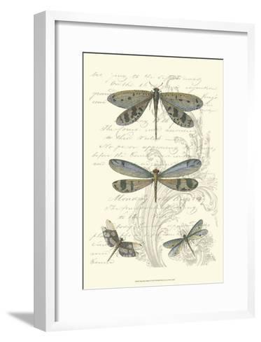 Dragonfly Delight I--Framed Art Print