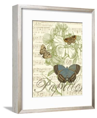 Papillon Melange I--Framed Art Print