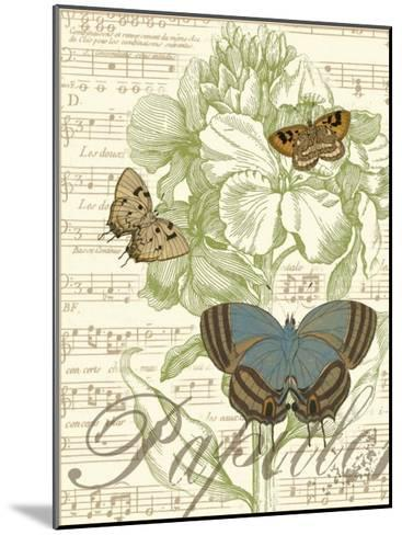 Papillon Melange I--Mounted Art Print