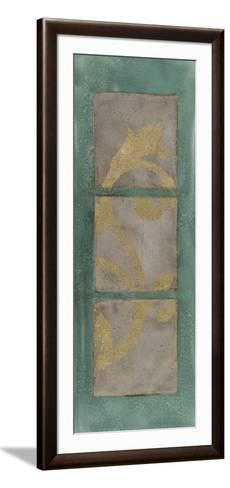 Textural Triptych III-Jennifer Goldberger-Framed Art Print