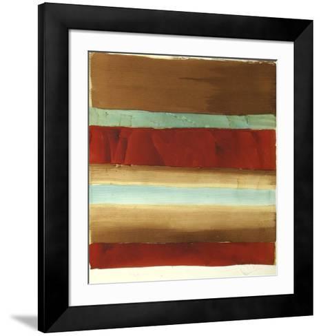 Banded Abstract I-Ethan Harper-Framed Art Print