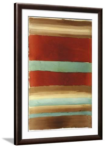Banded Abstract III-Ethan Harper-Framed Art Print