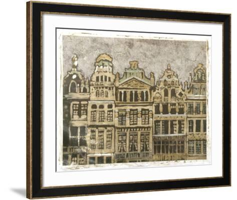 European Façade II-Megan Meagher-Framed Art Print