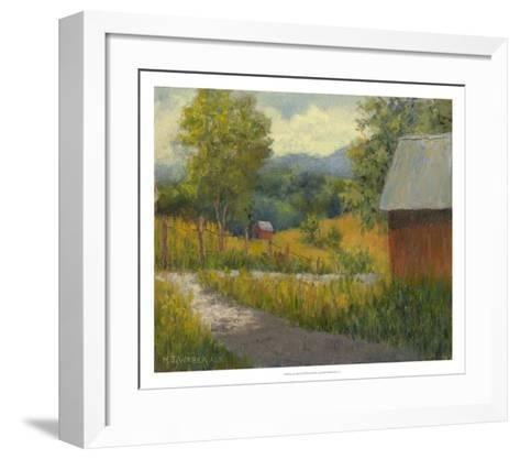 Kentucky Hill Farm-Mary Jean Weber-Framed Art Print