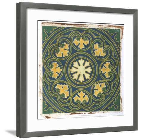 Antiqued Cloisonne III-Chariklia Zarris-Framed Art Print