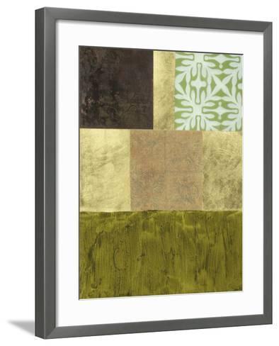 Abstract Remnants I--Framed Art Print