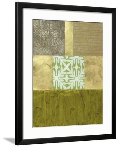 Abstract Remnants II--Framed Art Print