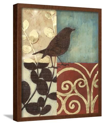Gilded Sparrow I--Framed Art Print