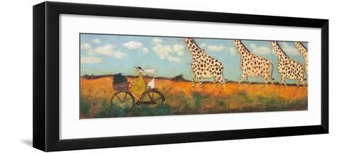 The Mustards and the Thornicrofts-Sam Toft-Framed Art Print