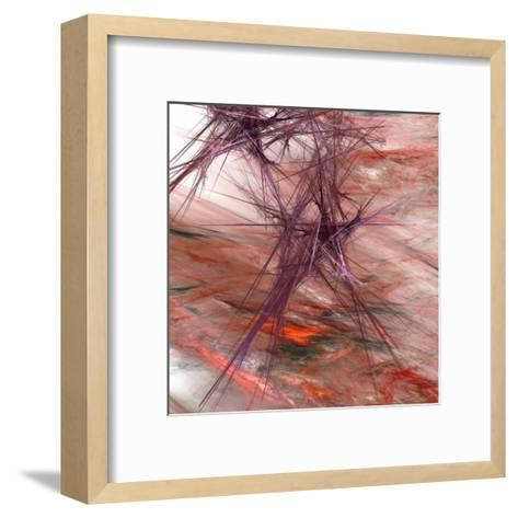 Purple Light II-Jean-Fran?ois Dupuis-Framed Art Print