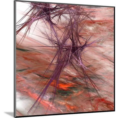 Purple Light II-Jean-Fran?ois Dupuis-Mounted Art Print