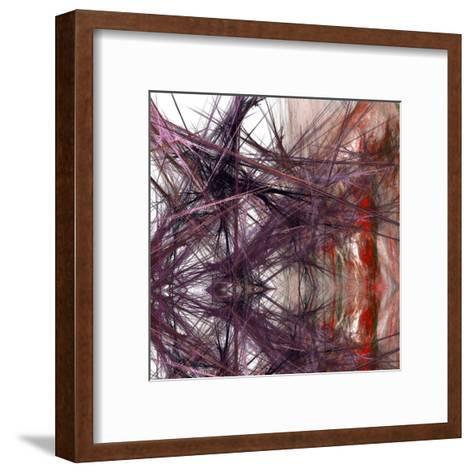 Purple Light III-Jean-Fran?ois Dupuis-Framed Art Print