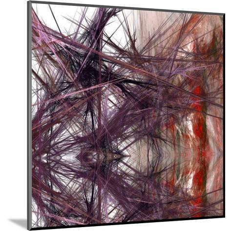Purple Light III-Jean-Fran?ois Dupuis-Mounted Art Print