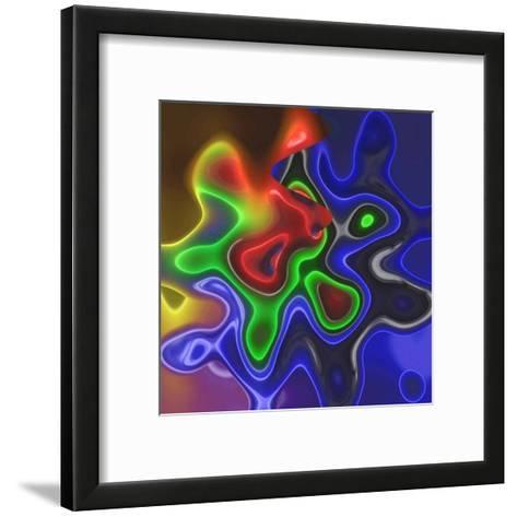 Chrome Bleu III-Jean-Fran?ois Dupuis-Framed Art Print