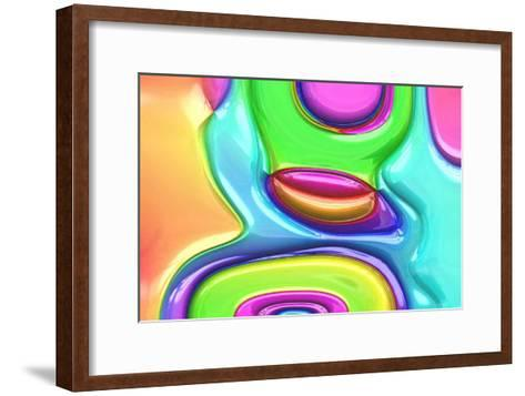 Chroma Folie-Jean-Fran?ois Dupuis-Framed Art Print