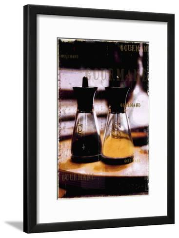 Gourmand: Salt & Pepper II-Pascal Normand-Framed Art Print