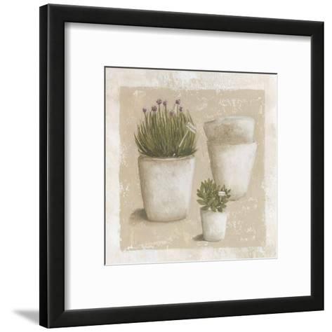 Ciboulette en Pot-V?ronique Didier-Laurent-Framed Art Print