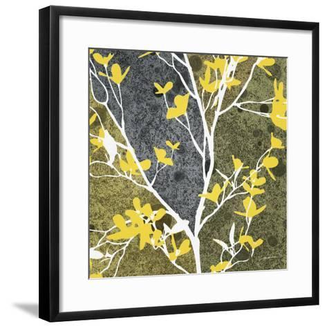 Moon Flowers I-James Burghardt-Framed Art Print