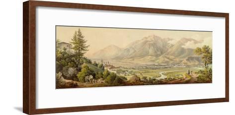 View of Innsbruck- Molitor-Framed Art Print