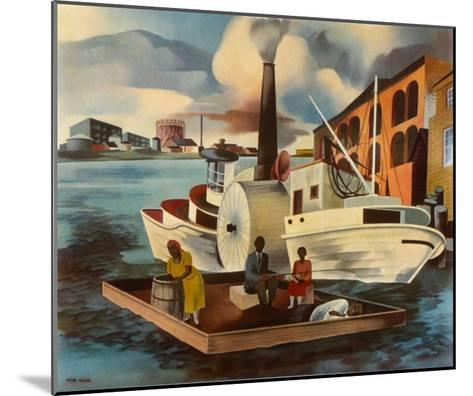 The Steamer-Peter Blume-Mounted Collectable Print