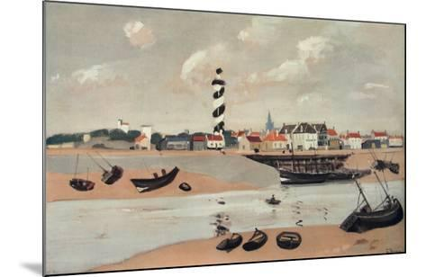 Gravelines-Andre Derain-Mounted Collectable Print