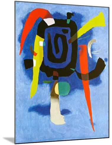 Bluxao V, c.1955-Willi Baumeister-Mounted Art Print