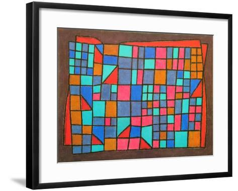 Glass Cladding, c.1940-Paul Klee-Framed Art Print