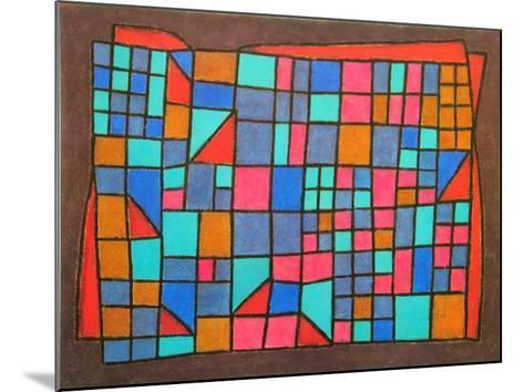 Glass Cladding, c.1940-Paul Klee-Mounted Art Print