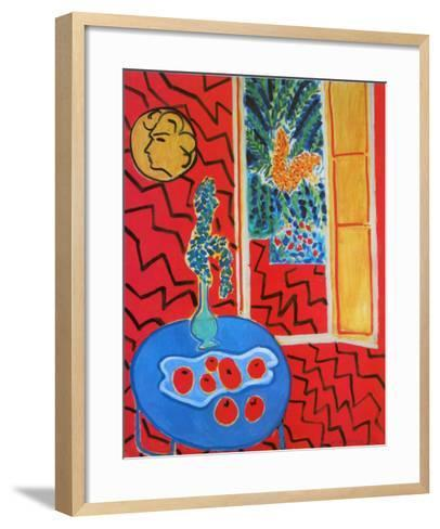 Red Interieur, Still Life on a Blue Table, c.1947-Henri Matisse-Framed Art Print