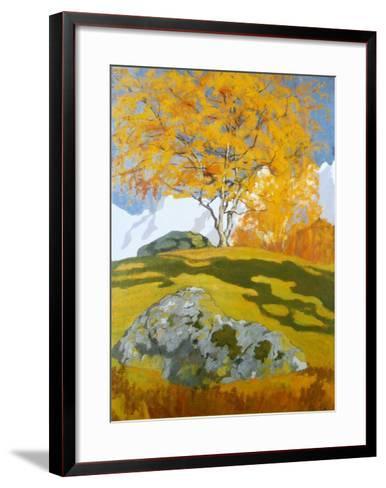 Autumn, c.1903-Giovanni Giacometti-Framed Art Print