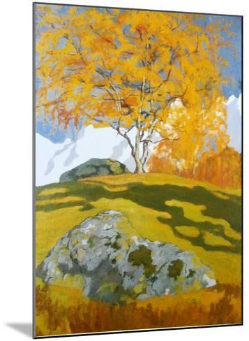 Autumn, c.1903-Giovanni Giacometti-Mounted Art Print