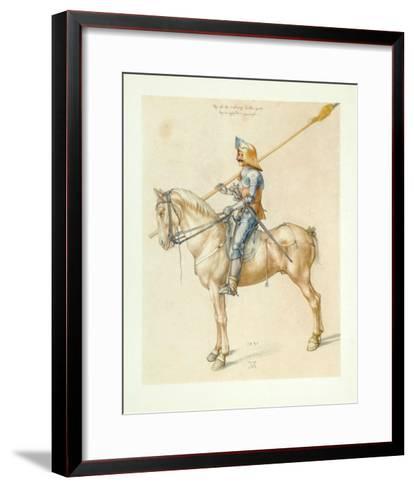 Armed Cavalier-Albrecht D?rer-Framed Art Print