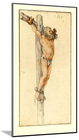 The Good Malefactor-Albrecht D?rer-Mounted Collectable Print