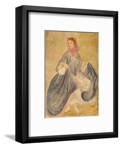 The Dancer-Constantin Guys-Framed Art Print
