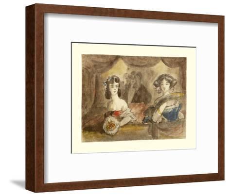 Box in Theatre-Constantin Guys-Framed Art Print
