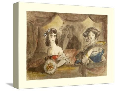 Box in Theatre-Constantin Guys-Stretched Canvas Print